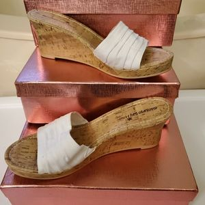 White Montego Bay Club Wedges